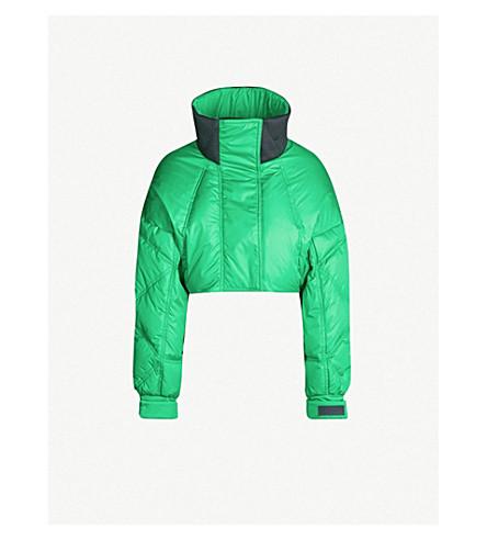 SPORTMAX Janzir 九分款软壳面料夹克 (绿色
