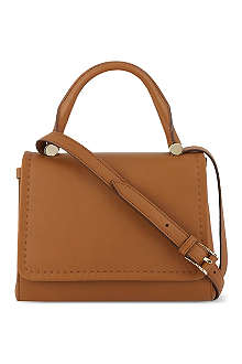 MAX MARA Advert leather tote