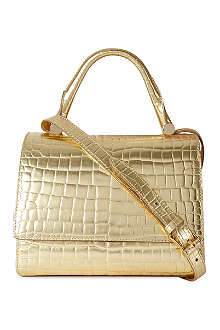 MAX MARA Gold chain cross-body bag