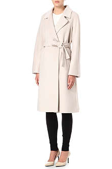 MAX MARA STUDIO Belted wool wrap coat