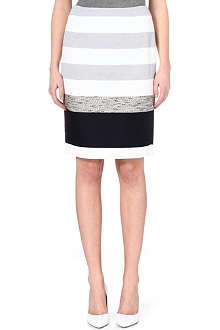 MAX MARA Kabul striped crepe skirt