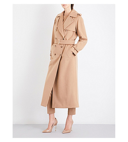 MAX MARA Kriss camel hair coat (Camel