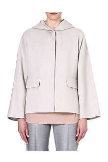MAX MARA Hooded wool-blend coat