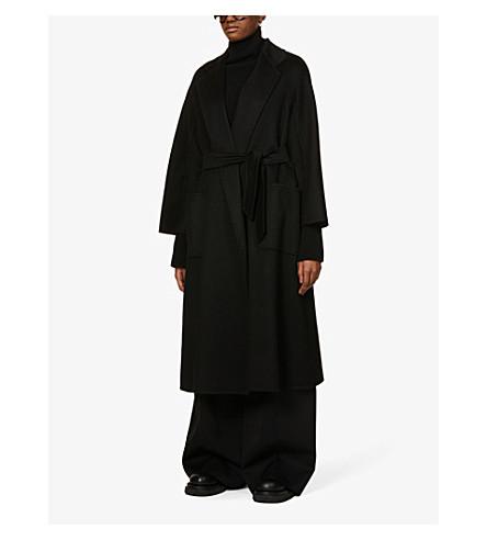 MAX MARA Labbro cashmere coat (Black