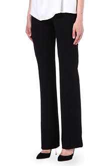 MAX MARA Straight-leg stretch trousers