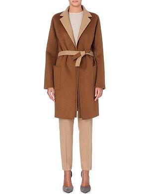 MAX MARA Laziale cashmere and wool-blend coat