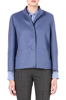 MAX MARA Lecco wool and angora-blend jacket