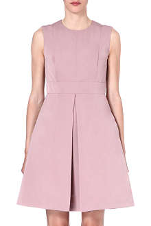 S MAX MARA A-line cotton-blend dress