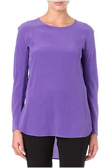 SPORTMAX Silk tunic top