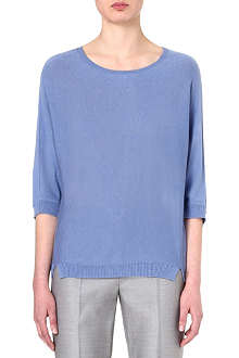 MAX MARA Lepre silk and cashmere-blend jumper