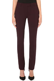 SPORTMAX Letter slim-fit trousers