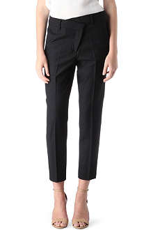 SPORTMAX Slim-fit wool trousers