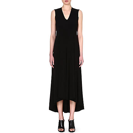 SPORTMAX Libro maxi dress (Black