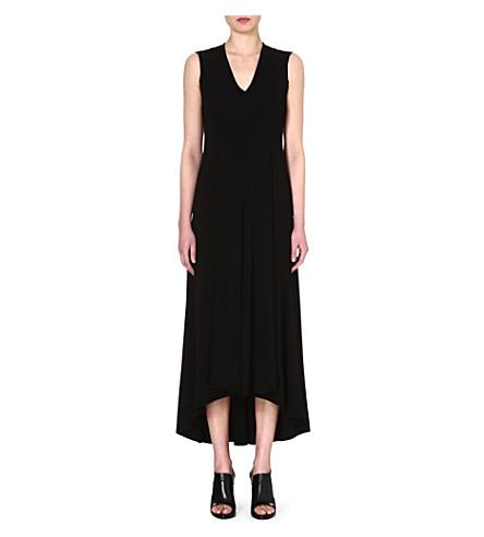 SPORTMAX Libro maxi dress (Black