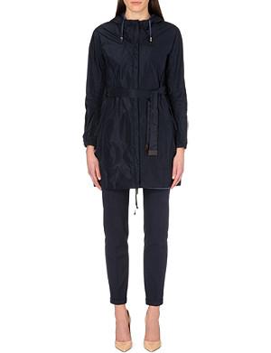 MAX MARA CUBE Lighte reversible hooded overcoat