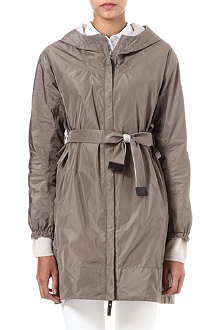 MAX MARA CUBE Lighte reversible hooded overcoat