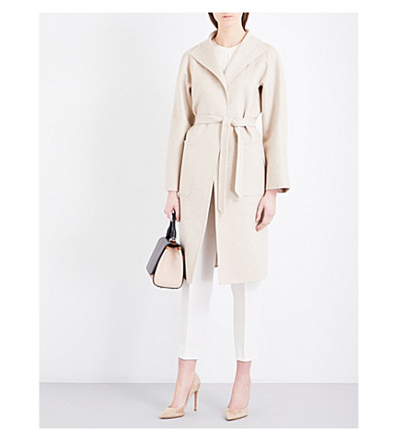 MAX MARA Lilia cashmere wrap coat (Beige