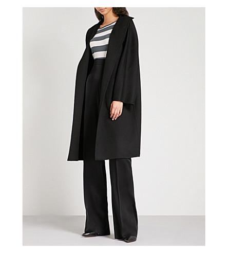 MAX MARA Lilia cashmere wrap coat (Black