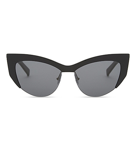 MAX MARA MM5514 Lina cat-eye sunglasses (Black