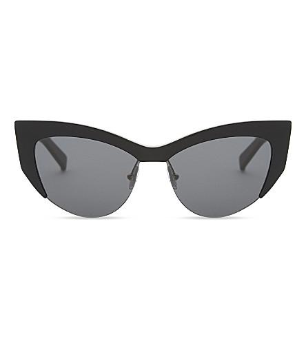 MAX MARA MM5514 莉娜猫眼太阳镜 (黑色