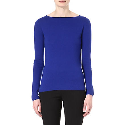 MAX MARA Cashmere top (Blue