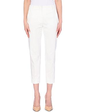 MAX MARA Lucas stretch-cotton trousers