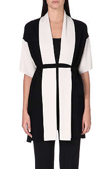 MAX MARA Macbeth colour-blocked wool cardigan