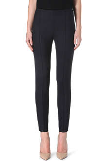 MAX MARA Madrid slim-fit stretch-wool trousers