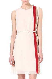 MAX MARA STUDIO Maldive tri-coloured dress
