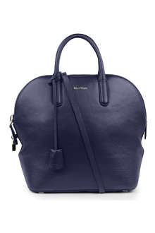 MAXMARA Manche grained leather tote bag