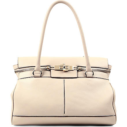 MAX MARA Marg leather bag (Sand