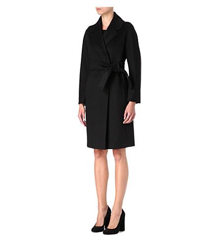 S MAX MARA Maria crepe dress (Black