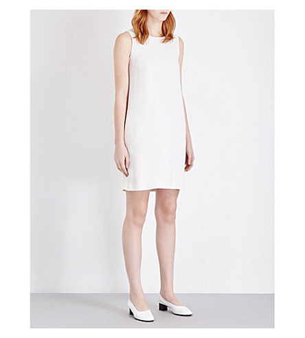 S MAX MARA Maria crepe dress (Ecru