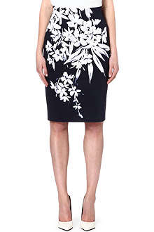 MAX MARA STUDIO Flower print skirt