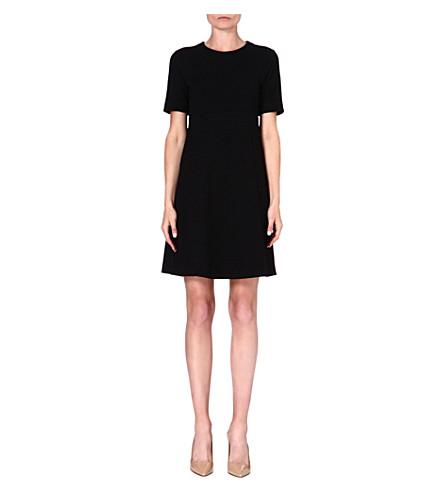 S MAX MARA Marlo wool-blend dress (Black