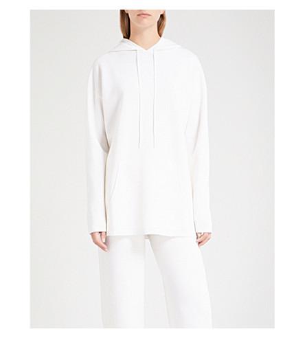 MAX MARA Marmo wool hoody (White