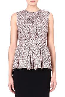 S MAX MARA Marte pleated-front top
