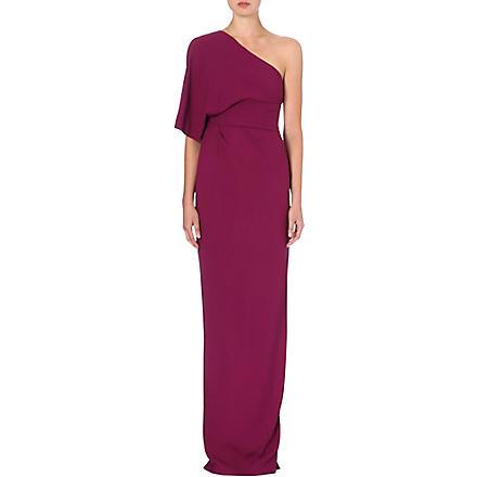 MAX MARA PIANOFORTE Mauritz draped gown (Plum