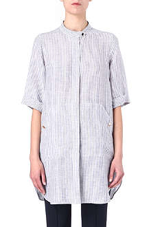 MAXMARA Meandro linen tunic shirt