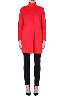 MAX MARA STUDIO Melina funnel-neck cocoon coat