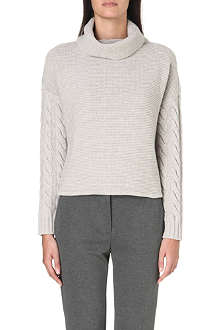 MAX MARA Mogan turtleneck wool and cashmere-blend jumper