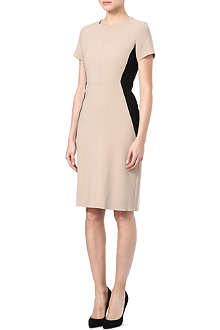 MAX MARA STUDIO Monique bodycon two-tone dress