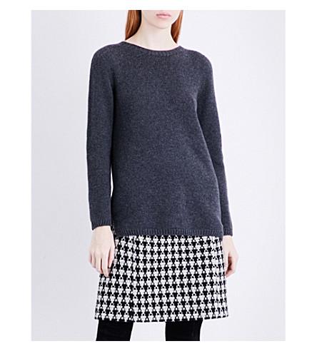 S MAX MARA Nastie chunky-knit cashmere jumper (Grey