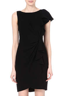MAX MARA Natale ruffled silk dress