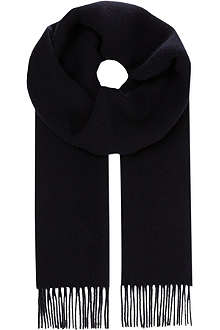 S MAX MARA Cashmere-wool scarf