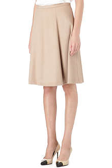 MAX MARA STUDIO Flared wool skirt