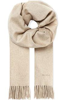 MAX MARA Nazione cashmere scarf