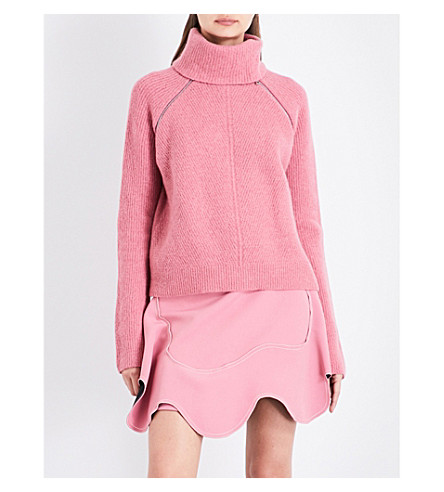 SPORTMAX Nebbie knitted jumper (Antique+rose