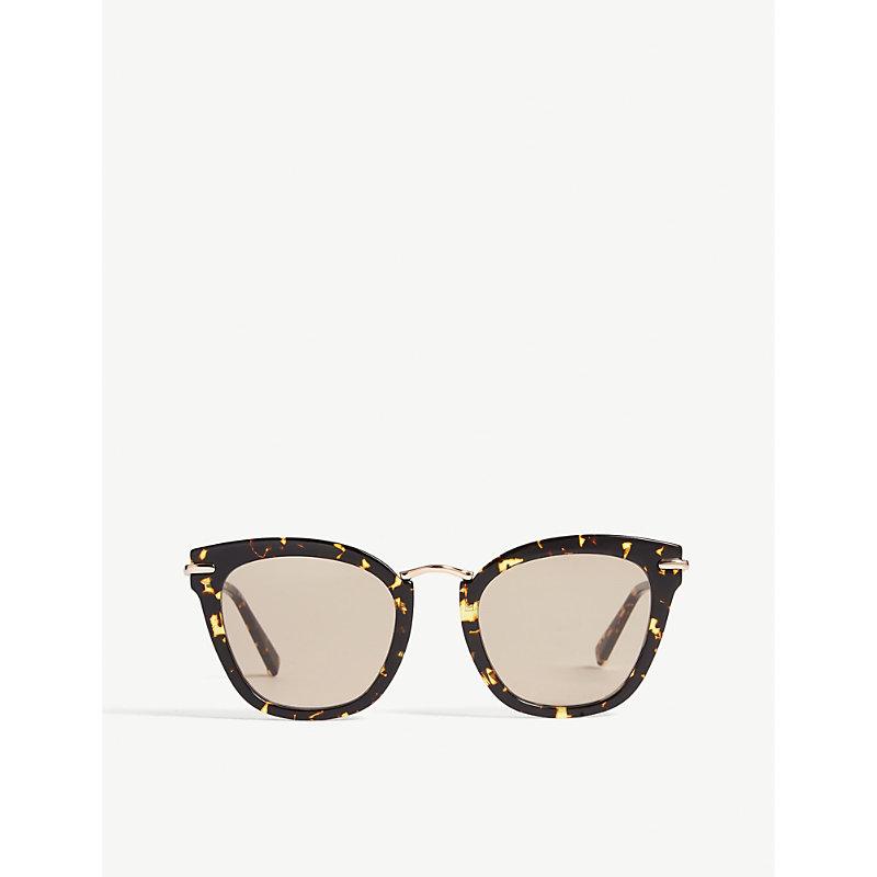 Needle square-frame sunglasses