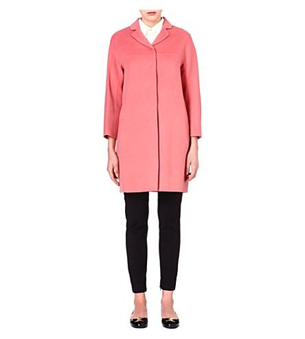 S MAX MARA Nilla wool coat (Pink